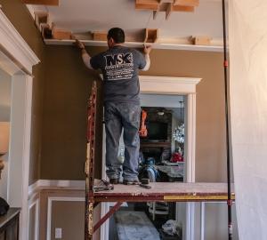 Coffered Ceiling in Kinnelon NJ