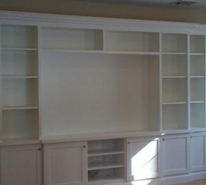 Custom Built Ins / Wall Units - MSK & Sons Construction
