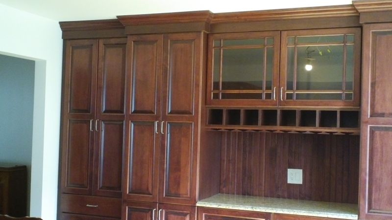 Custom Dining Room Cabinet Fair Lawn Nj 04