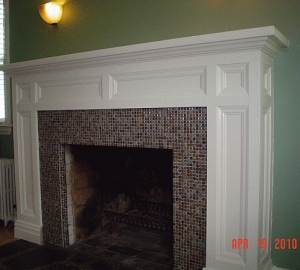 Fireplace Mantel in Dumont