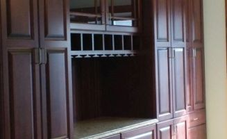custom built ins wall units