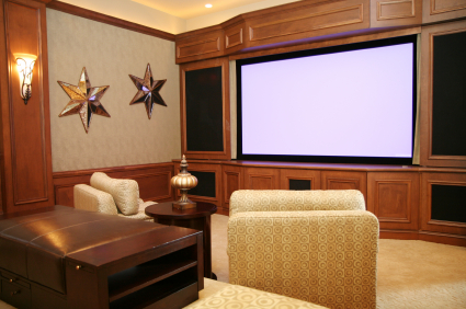 Montville Remodeling Contractors, Ho-Ho-Kus interior remodeling (home theater)