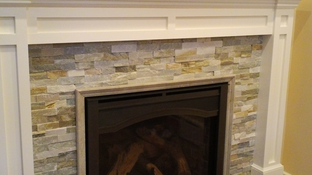 Custom Stone Fireplaces. Custom Stone Fireplace In Small Addition Dumont NJ  MSK Sons