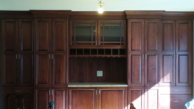 Custom Dining Room Cabinet in Fair Lawn, NJ | New Jersey Remodeling